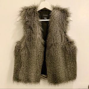 Club Monaco Faux Fur Vest